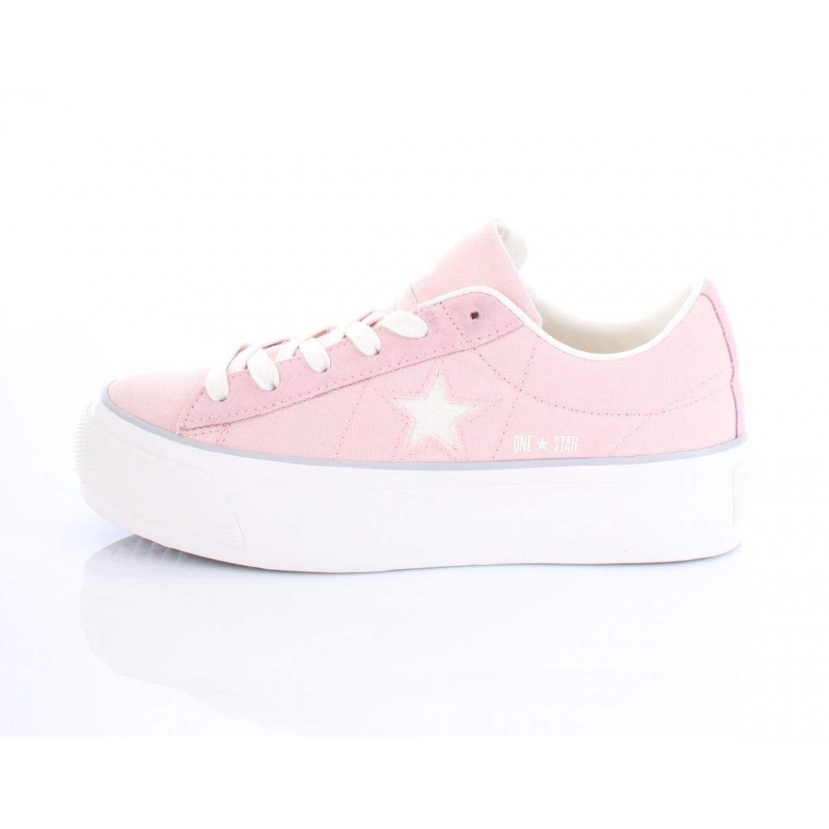Converse All Star Sneakers Donna Platform Ox 560987C Rosa
