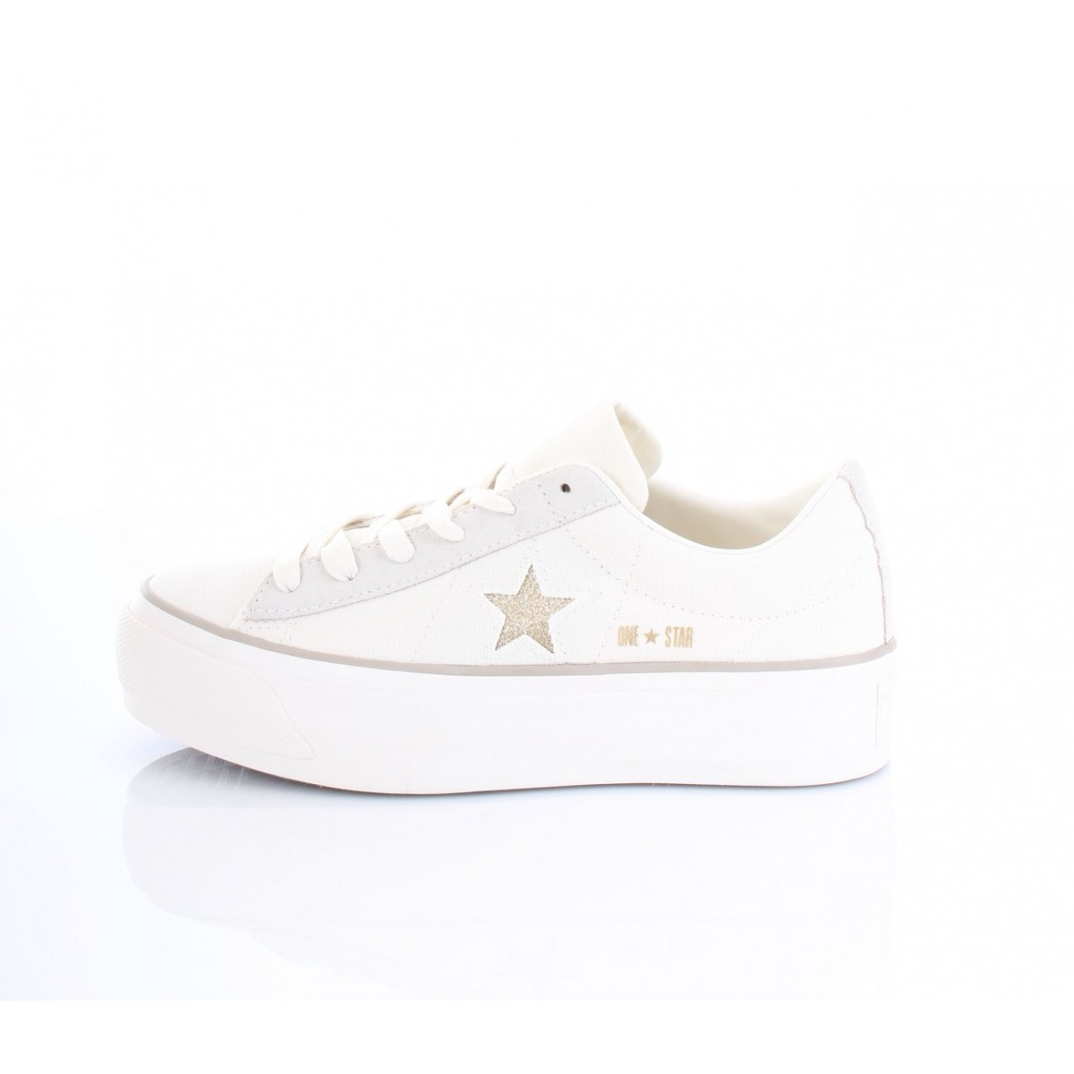 43a9d79237a1 Converse All Star Sneakers Donna Platform Ox 560985C Bianche