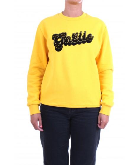 Gaelle Paris Donna Felpa GBD5191 Giallo Ocra