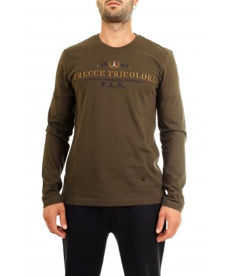 Aeronautica Militare T-shirt Manica Lunga TS1297 Verde