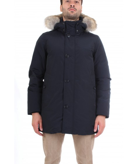 Woolrich Uomo South Bay Parka Blu