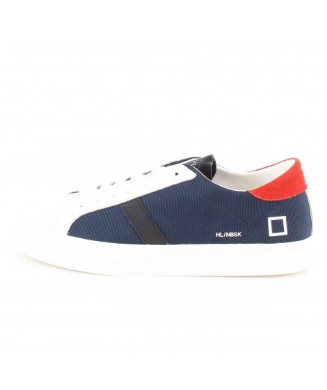 D.A.T.E. Uomo Sneakers Hill Low Nebraska Blue