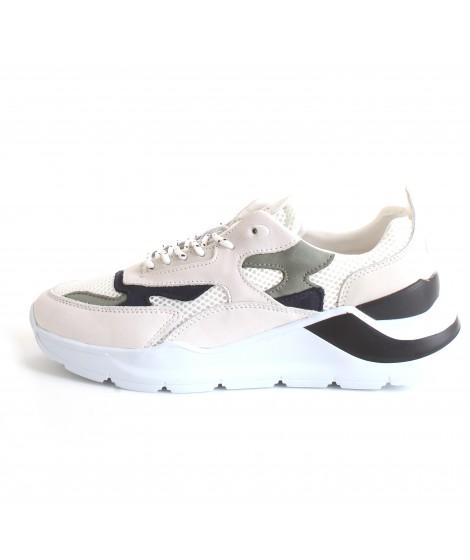 D.A.T.E. Uomo Sneakers Fuga Mesh White