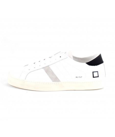 D.A.T.E. Uomo Sneakers Hill Low Calf White-Black