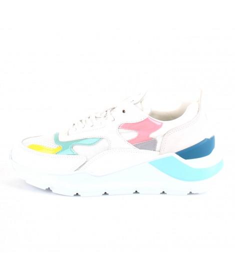 D.A.T.E. Donna Sneakers Fuga Netki White