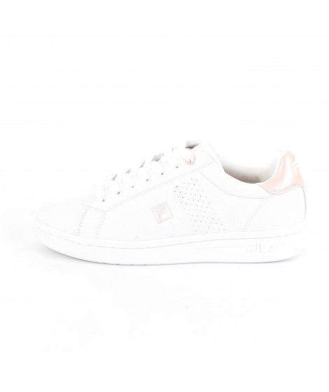 Fila Donna Sneakers Crosscourt 2F Low Bianca e Rosa