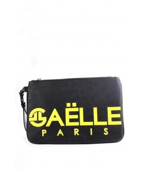 Gaelle Paris Borsa da polso con Maxi Logo