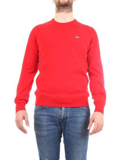 Lacoste Uomo Maglia AH3467-00 Rosso