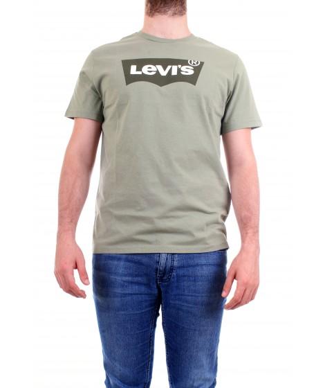 Levi's Uomo T-shirt The Graphic Tee Housemark Verde