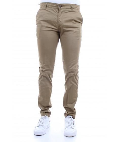 Camouflage Uomo Pantaloni CHINOS REY 17 ZIP Beige