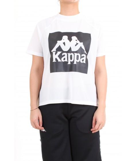 Kappa T-shirt Manica Corta Authentic Bazy Bianca