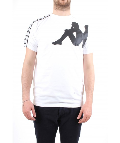 Kappa T-Shirt Manica Corta Authentic Buys Bianca