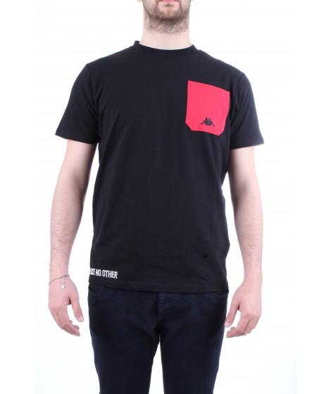 Kappa T-Shirt Manica Corta Authentic Baias Nera