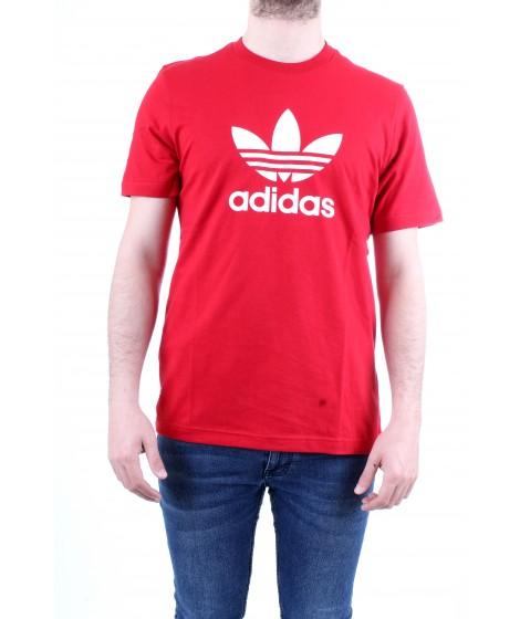 Adidas Originals T-shirt Trefoil Rossa