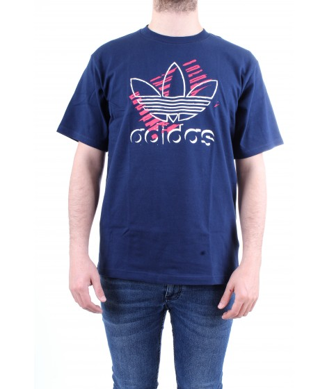 Adidas Originals T-shirt Trefoil Art Tee Blu