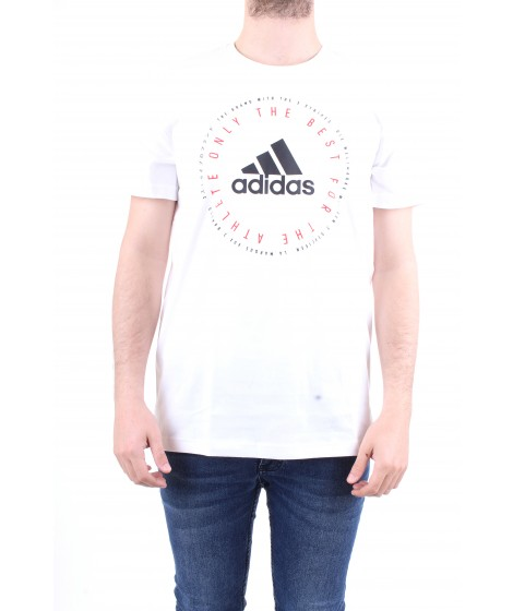 Adidas Originals T-shirt Emblem Bianca