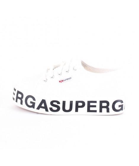 Superga Sneakers Donna con Zeppa Lettering