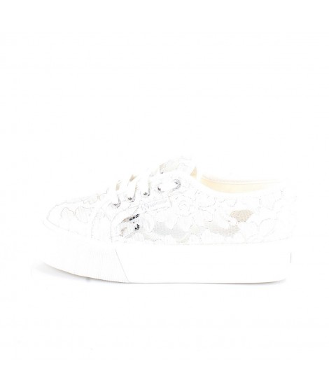 Superga Donna Sneakers 2790 Frosted Syntlace Bianche