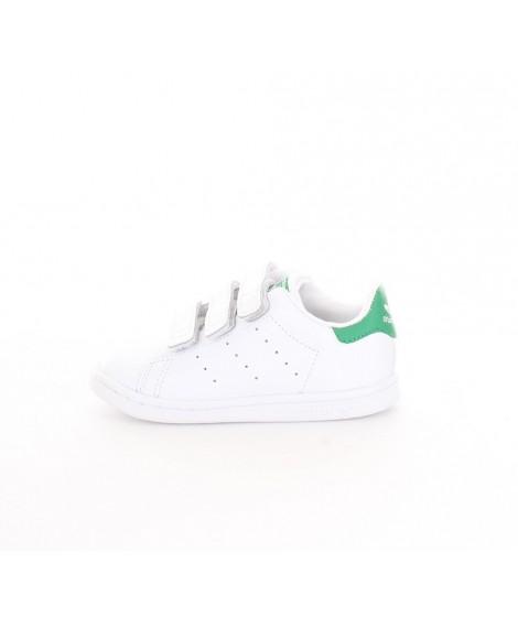 Adidas Junior Stan Smith CF C Bianca e Verde