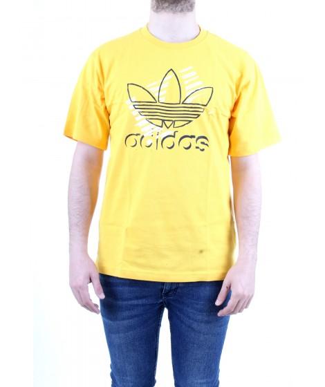 Adidas Originals T-shirt Trefoil Art Tee Gialla