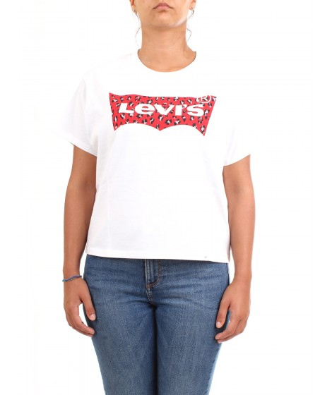 Levi's Donna T-shirt Graphic Varsity Tee