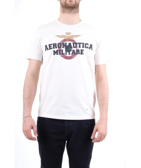 Aeronautica Militare T-Shirt M.C. TS1617 Bianca