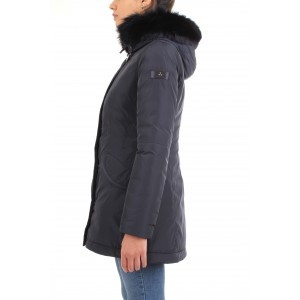 Peuterey Donna Piumino Marr Sa Fur Blu