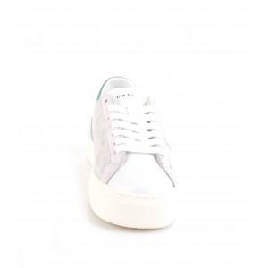 D.A.T.E. Donna Sneakers Vertigo Laminated Silver