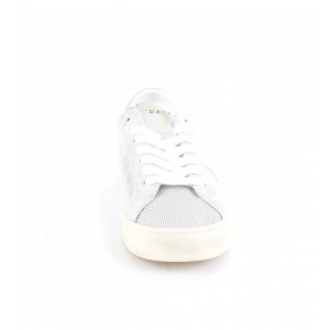 D.A.T.E. Donna Sneakers Hill Low Stardust Silver