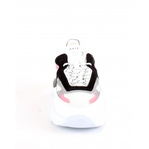 D.A.T.E. Donna Sneakers Fuga Netki White-Pink