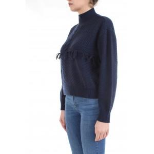 Le Coeur Twinset Donna Maglione 192ST3050 Blu