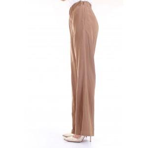 LanaCaprina Donna Pantaloni PF2303 Cuoio