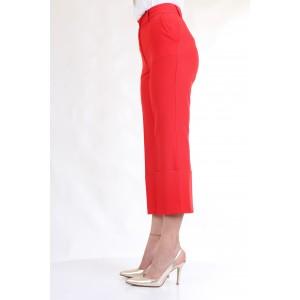 LanaCaprina Donna Pantaloni PF2235 Rosso