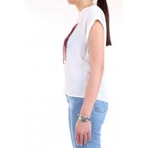 LanaCaprina Donna T-shirt Bianco