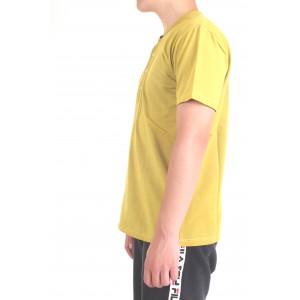 Diktat Uomo T-shirt DK77162 Giallo
