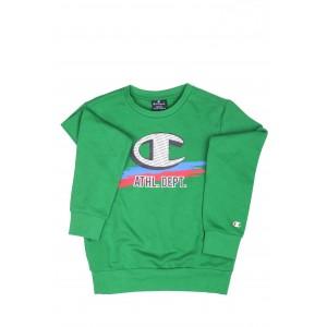 Champion Bambino Felpa girocollo 305439 Verde
