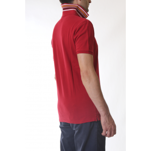 Woolrich Polo Uomo GRACIOUS Rossa