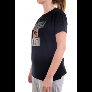 Freddy Donna T-shirt S1WSDT5 Nero