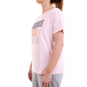 Freddy Donna T-shirt S1WSDT5 Rosa