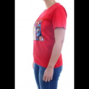 Nenette TLJ T-shirt Duck Rosso