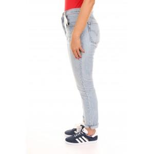 Levi's Jeans Donna 501 Skinny Filiforme Chiaro