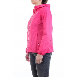 K-way Donna Giacca Marguerite Poly Jersey Fuxia