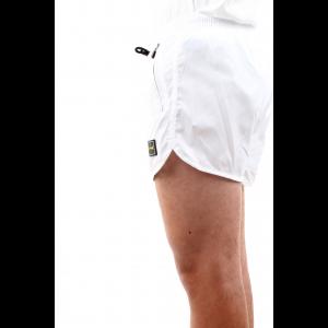 Effek Uomo Short con Zip Laterali Bianco