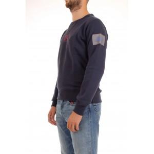Best Company Felpa Unisex Girocollo in caldo cotone Blu