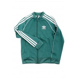 Adidas Bambino Felpa Track Jacket DH2650 Verde