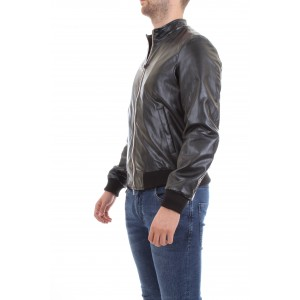 Manuel Ritz Uomo Giubbino Lightweight Jacket Nera