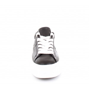 Sneakers Donna Converse All Star One Star Patform Ox Leather Nere