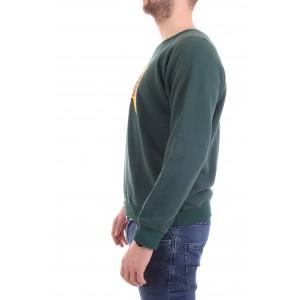 Roy Rogers Felpa Uomo Crew Neck Sweater Verde