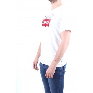 Levi's X Peanauts Uomo T-shirt Graphic Tee Bianca