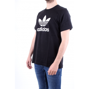 Adidas Originals T-shirt Trefoil Nera